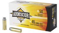 Armscor Ammo 45 Colt (LC) 225 Grain Lead 50 Rounds
