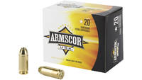Armscor Ammo 40 S&W 180 Grain JHP 20 Rounds [A