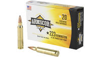 Armscor 223 Rem 55 Grain Pointed Soft Point  20 Ro