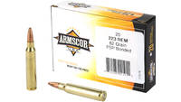 Armscor 223 Rem 62 Grain Bonded Pointed Soft Point