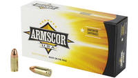 Armscor Ammo 9mm 147 Grain FMJ 50 Rounds [FAC95]