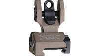 Troy BattleSight Folding Rear Sight Flat Dark Eart