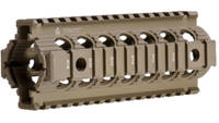 Troy Firearm Parts 7in Drop In Rail Carbine/M-4 7i