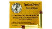 Jamison Ammo Pinnacle 327 Federal 75 Grain RN 20 R