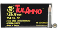 Tula Ammo 7.62x39mm Russian 124 Grain SP 40 Rounds
