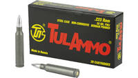 Tula Ammo 223 Remington FMJ 55 Grain Steel Case 20