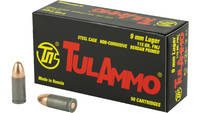 Tula Ammo 9mm FMJ 115 Grain 50 Rounds [TA919150]