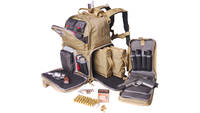 G-Outdoors Inc. Tactical Backpack Tan Soft 3 Inter
