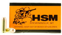 HSM Ammo Training 10mm 180 Grain FMJ 50 Rounds [10