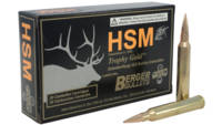 HSM Ammo Trophy Gold 7mm STW BTHP 168 Grain 20 Rou