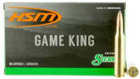 HSM Ammo Game King 338 Lapua Magnum 215 Grain SBT