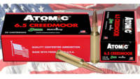Atomic Ammo 6.5 creedmoor match 142 Grain sierra s
