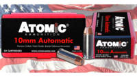 Atomic Ammo Defense 10mm 180 Grain Bonded MHP 50 R