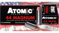 Atomic Ammo Match 44 Magnum 240 Grain Bonded Match