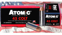 Atomic Ammo Match 45 Colt (LC) 250 Grain Bonded Ma