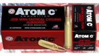 Atomic Ammo .308 win subsonic 260 Grain round nose