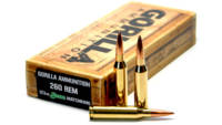 Gorilla Ammo Match 260 Remington 123 Grain Sierra