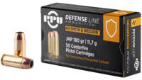 PPU Ammo Defense 40 S&W 180 Grain JHP 50 Rounds [P