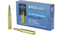 PPU Ammo 25-06 Rem 90 Grain HP 20 Rounds [PP2506H]