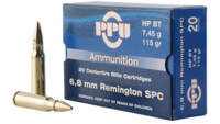 Prvi Partizan PPU Ammo 6.8mm Remington SPC 115 Gra