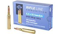 Prvi Partizan PPU Ammo 6.5x55 Swedish 139 Grain SP