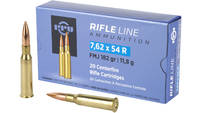 Prvi Partizan Rifle 7.62X54R 182 Grain Full Metal