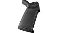 Magpul grip moe plus ar-15 w/rubber overmolding bl