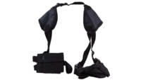 Bulldog deluxe hztl-shoulder holster rh/lh most 19